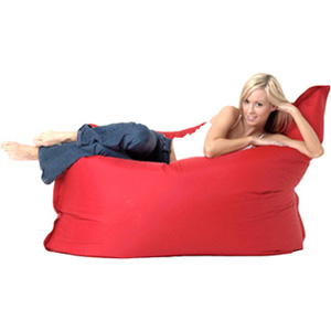 Beanbagz Chairs Xl Red Leather Choose Your Colour The BeanBagZ Brand BIG BOY Bean Bag Pillow Chair