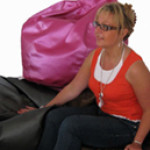 Medium Teardrop Bean Bag Chair